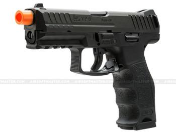 Elite Force HK VP9 GBB Pistol Black Angled