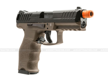 Elite Force  HK VP9 Tactical GBB Pistol Tan Angled View