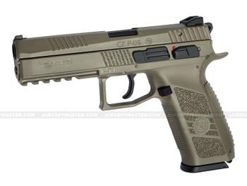ASG CZ P-09 Sportline GBB Airsoft Pistol FDE/Tan