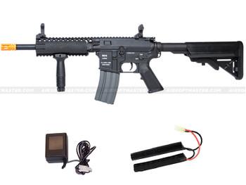 Classic Army M4 RIS EC1 Skirmish Airsoft Rifle Black