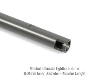 Madbull Inner Barrel 6.01mm Ultimate Precision Tight Bore (455mm)