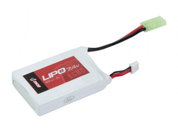 Echo 1 7.4V 2000mAh 25c Airsoft Lipo Battery