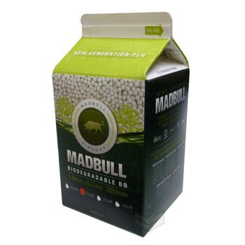 Madbull .20 Bio BB 3000rds Milk Carton PLA Biodegradable