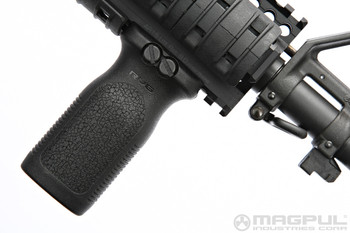 Magpul RVG Vertical Grip Mounted