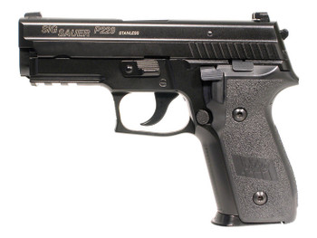 Cybergun Sig Sauer P229 GBB Gas Blowback Airsoft Pistol