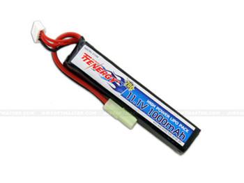 Tenergy 11.1V 1000mAh 20C LiPO Stick Battery