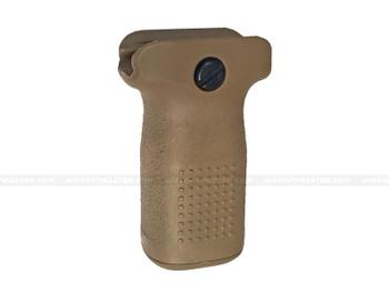 PTS EPF-S Enhanced Polymer Vertical Grip Short Tan