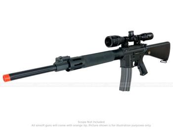 JG M16 DMR UFC AEG Rifle Electric Airsoft Gun Black