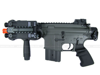 The JG CSI M4 Pistol Airsoft Electric Rifle Black