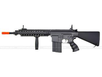 The JG SR25 GB Airsoft Electric Rifle Black