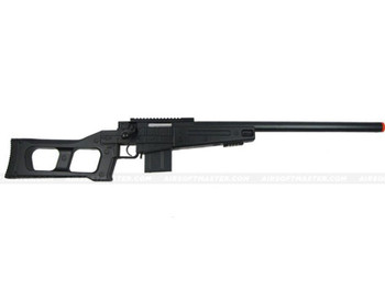 The WELL L96 Single Bolt Action Spring Rifle