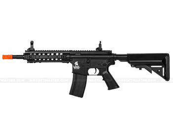 The Lancer Tactical M4 W/ FREE FLOAT RAIL Airsoft Electric Rifle