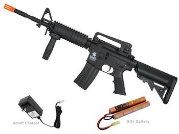 Lancer Tactical M4 RIS SOPMOD LT-04 Gen2 Airosft Gun Black