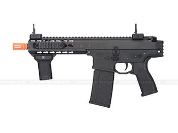 """Lancer Tactical LT-200BC Warlord 8"""" SMG Airsoft Gun Black"""