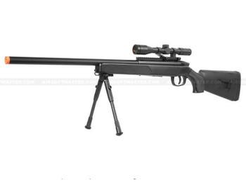 Cyma ZM51 Bolt Action Airsoft Sniper Rifle Black