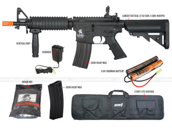 Airsoft Master Starter Package 101 for Beginners in Black