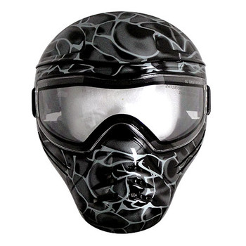 Save Phace Intimidator Airsoft Mask - Front View