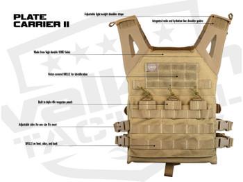 Valken Plate Carrier II