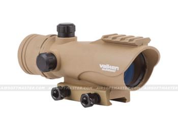Valken RDA30 Red Dot Sight Tan