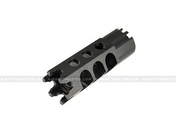 LCT Airsoft AK-74UN Series AEG 24mm Hexagon Flash Hider (Black)
