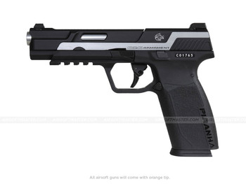 G&G Piranha MK1 Gas Blowback Pistol Silver