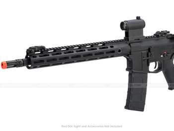 "CYMA M4 QBS 13"" M-Lok Full Metal AEG Black"