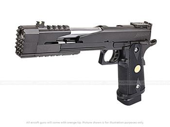 "WE Tech 7"" Black Dragon Gas Blowback Hi-Capa Pistol"