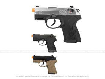 WE Tech Bulldog Gas Blowback Pistol silver black tan