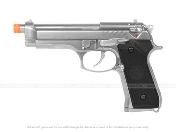WE Tech Full Metal M9 Tactical Gas Blowback Pistol