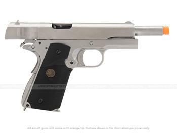 WE Tech M1911 Full Metal MEU Grip locked slide