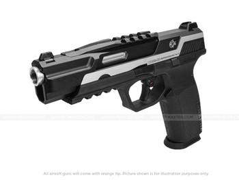 G&G Piranha TR Silver Gas Blowback Pistol