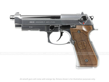 G&G GPM92 GP2 Silver Limited Edition Gas Blowback Pistol