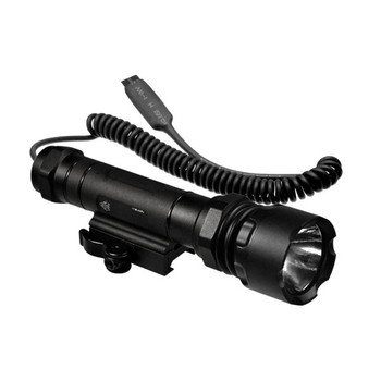 UTG LT-ZL337Q Xenon Tactical Flashlight 260 Lumens w/ QD Mount