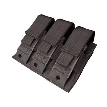 Condor MA52 Triple Pistol Magazine Pouch - black