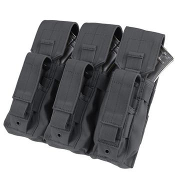 MA27-001 condor triple ak kangaroo mag pouch black