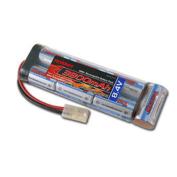 Tenergy 8.4V 3800mAh NiMH Flat Battery