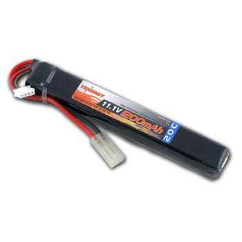 Tenergy 11.1V 1200mAh 20C LiPO Stick Battery