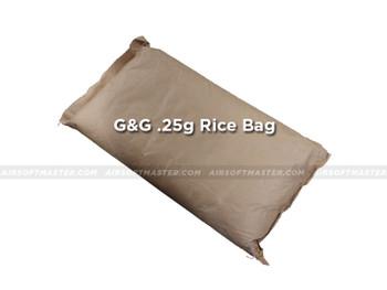 G&G .25g Precision BB 6mm Rice Bag