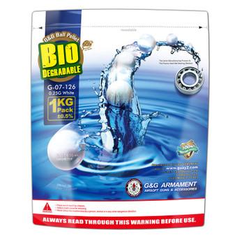 G&G .25g Biodegradable BB 4000rd - White