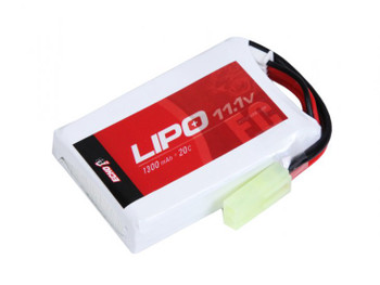 Echo1 11.1v 1300mah 20C LiPO Battery