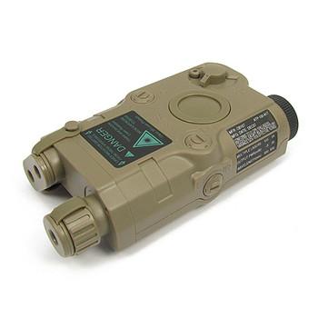 King Arms AN/PEQ-15 Box Battery Case - FDE