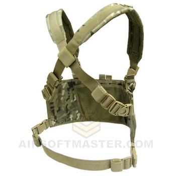 Condor Multicam OPS Chest Rig Rear View