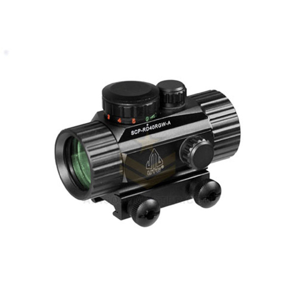 UTG 38mm Tactical Red/Green Dot Sight