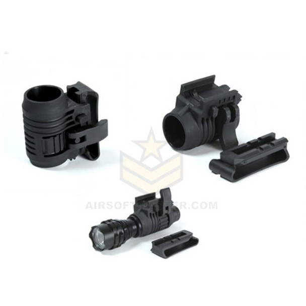 "Echo1 1"" Tactical Flashlight Mount"