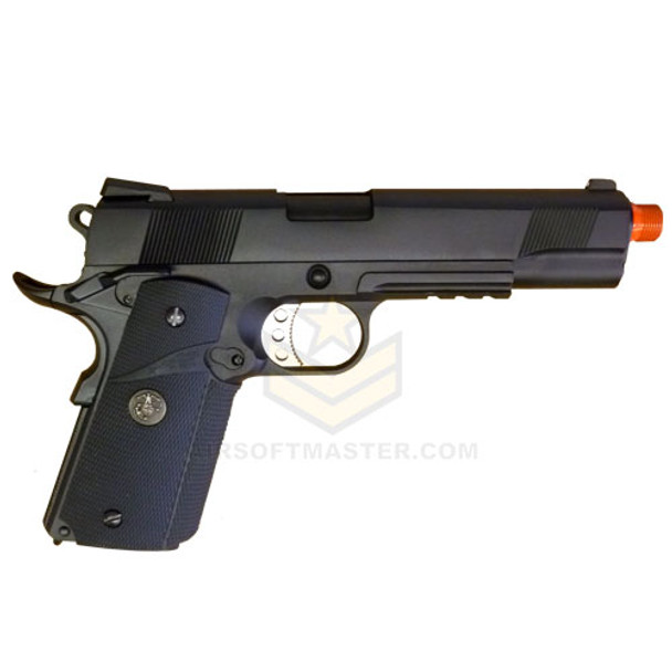 WE Tech 1911 Tactical Full Metal GBB Pistol