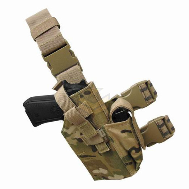 Condor Tactical Leg Pistol Holster - MultiCam