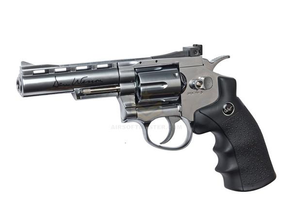 """ASG Dan Wesson 4"""" Revolver CO2 - Silver"""