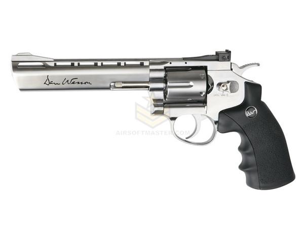 """ASG Dan Wesson 6"""" Revolver CO2 - Silver"""