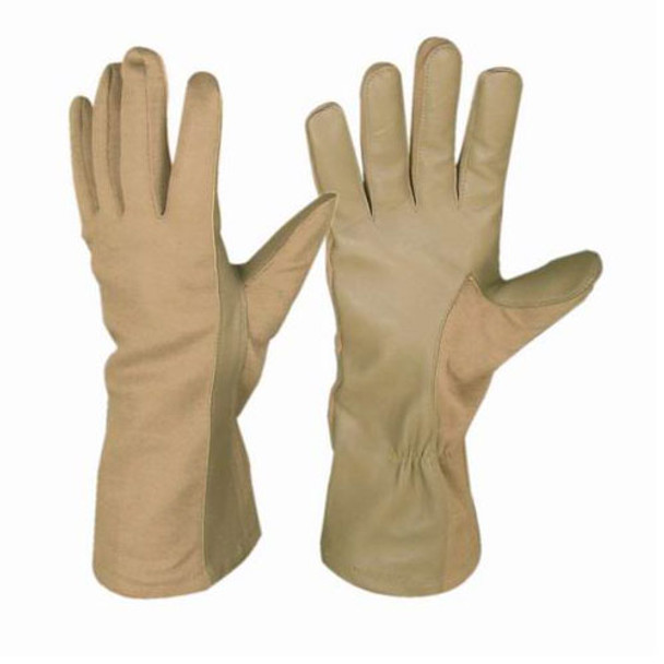 Condor Nomex Flight Gloves - Tan