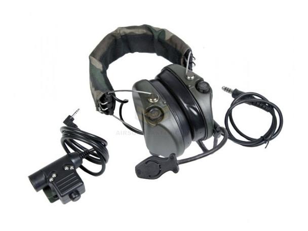 Bravo Airsoft Headset 7 - PTT/Motorola